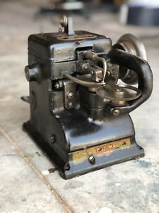 The Bonis Brothers Vintage Fur Sewing Machine Leather Glove Industrial
