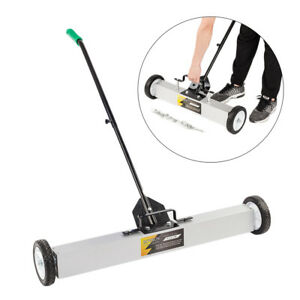 36 Magnetic Sweeper Floor Rolling Pick Up Roller Push Broom