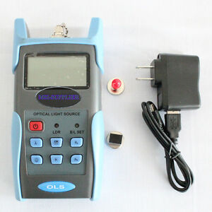 Jw3116 Handheld Adjustable Fiber Optic Tester 1310 1550 1490nm