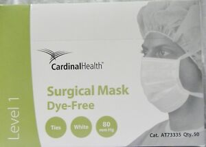 Cardinal Health At73335 Surgical Mask 50 box Qty 6 Boxes