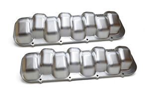 Billet Big Block Chevy Valve Covers tall Valve Clearance 100 Billet Cnc Usa