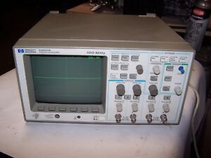 Hp Hewlett Packard 54601b Oscilloscope 100 Mhz