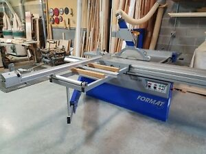 Felder Format 4 Kappa 40 Sliding Panel Saw Used In Excellent Condition