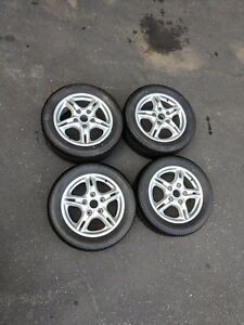 2004 Porsche Boxster Wheel And Tire Set