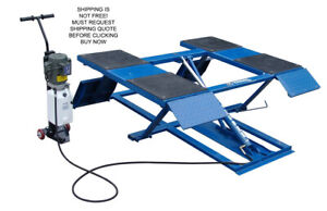 Kernel 6000 Lb 6k Automotive Low Rise Car Scissor Pad Lift