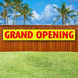 Grand Opening Advertising Vinyl Banner Flag Sign Large Huge Xxl Sizes