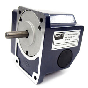 Continuous Speed Reducer Right Angle Gear Box 9 1 Ratio 0 03 Input Hp