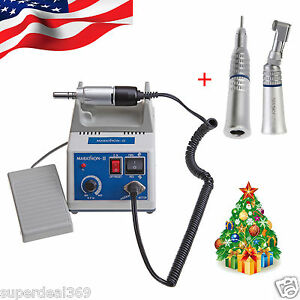 Usa Dental Electric Marathon Polisher Micro Motor 35k Rpm 2x Handpieces Super