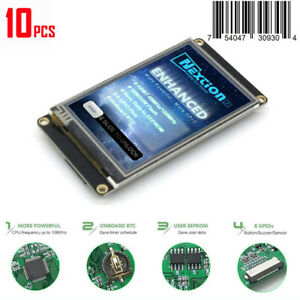 10x 3 5 Nextion Enhanced Hmi Intelligent Smart Usart Serial Lcd Module Display