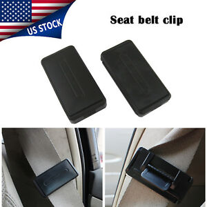 Car Seatbelt Adjuster Car Seat Belt Stopper Clip Buckle Relax Neck Comfort