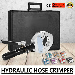 71500 Hydraulic Hose Crimper Crimping Tools Kit A c Air Conditioning Portable