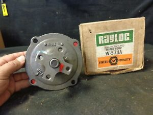 1955 Desoto Water Pump Fits Hemi V8 Engines 265 276 291 330 Rayloc Nos W534a