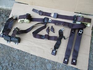 1983 1987 Monte Carlo Grand National Seats Cutlass Regal Seat Belts Nice Oem