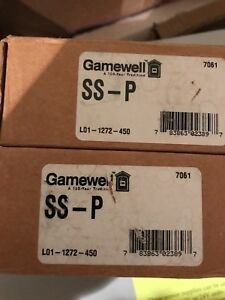Gamewell Ss p photoelectric Smoke Detector lot Of 5 New