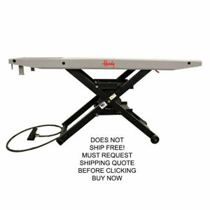 Handy Sam 1200 Lb Automotive Motorcycle Bike Air Lift Table