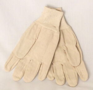 Cotton Canvas Work Gloves 300 Pairs 15108 Mens Large Case