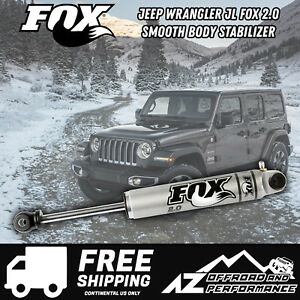 Fox 2 0 Performance Series Ifp Steering Stabilizer Fits 18 20 Jeep Wrangler Jl
