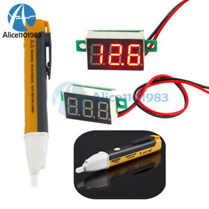 Ac Electric Power Voltage Tester Volt Pen Detector Sensor 90 1000v Tester Pen