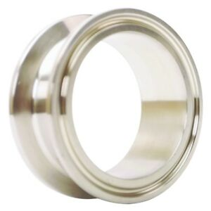 Sanitary Spool Tri Clamp 2 Inch X 1 Ss304 3a 2 Pack