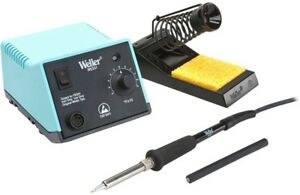 Weller Analog Soldering Station With Dial Wireless Temperature Lockout Sensor