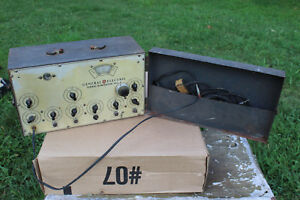 Vintage Ge General Electric Signal Generator Model Ygs 3 101j102g1 Rare