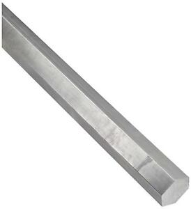 316l Stainless Steel Hex Bar Unpolished Mill Finish 9 16 Across Flats 36