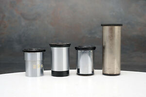 Four 4 Microscope Eyepieces 1 Zeiss 3 Leitz