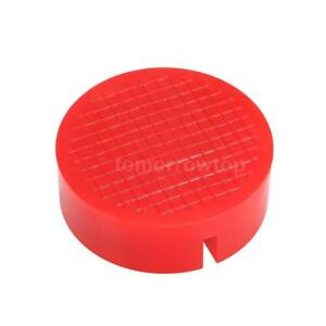 1pcs Universal Red Floor Jack Disk Pad Adapter For Pinch Weld Side Jackpad L2f8