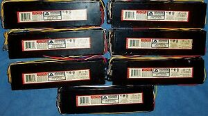 Lot Of 7 Advance Ballasts Vel 2s110 48 60 64 72 96 Compatible To B295sr277 9