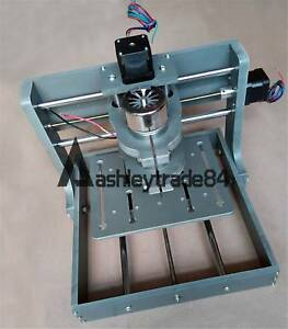 Mini Diy Cnc 20x20cm Router Kit Usb Desktop Metal Engraver Pcb Milling Machine