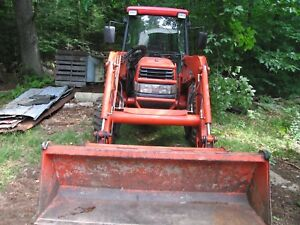 Winter Is Coming 2004 Kubota L4630 With Loader And Qa Power Angle Snow Plow