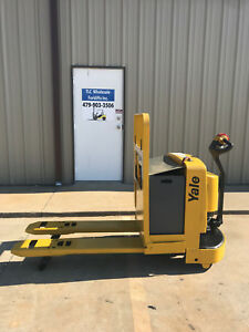 2003 Yale Electric Pallet Jack Model Mpw060 Forklift Walkie Only 4974 Hours