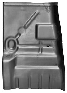 Front Floor Pan Half For 68 79 Chevy Nova Buick Apollo Olds Omega left