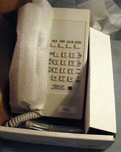 Lot Of 6 New Aastra Ite 4 Single Line Digital Business Phone White 5140405044