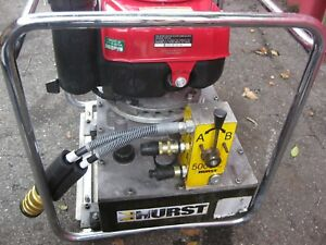 Hurst jaws Of Life Rescue 5000psi Hydraulic Pumps Honda Gxv 160 Ohv