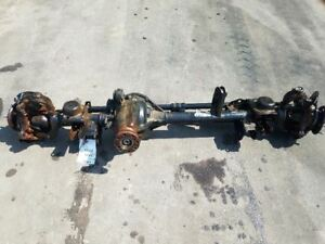 2016 2017 Jeep Wrangler Front Axle Assembly 4 10 Ratio Dana 44 Electric Locking