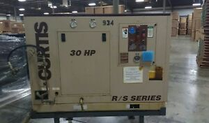 Curtis 30hp R s 30 Series Air Compressor