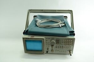 Tektronix Model 2715 spectrum Analyzer With Power Cable