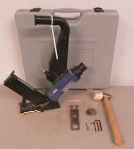 Central Pneumatic 2 In 1 Flooring Cleat Nailer stapler 94446