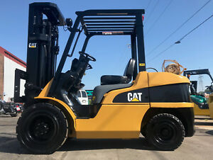 Caterpillar P7000 7000lb Pneumatic Forklift Lifttruck
