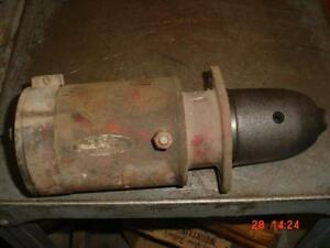 Original Farmall H super H m Tractor Working Engine Starter Ihc Super M a b
