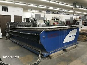 2001 Calypso Shark 5x10 Table 30 Hp 55k Psi Cnc Waterjet Ref 7795876