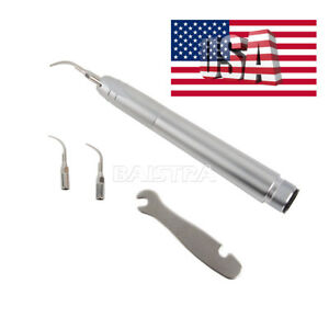 Dental Air Scaler Scaling Handpiece 2 Holes Super Sonic G1 g2 p1 Tips Fit Nsk