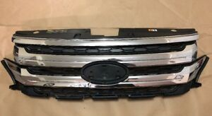 2011 2012 2013 2014 Ford Edge Front Grill Grille Oem