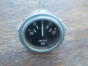 Stewart Warner Amp Meter Gauge For An Old Austin Triumph Mg