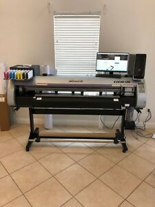 Mimaki Cvj30 130 Printer Cutter Dell Xps Loaded With Software Barely Used