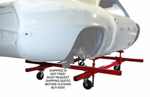 Merrick Usa Made Mobile Auto Body Restoration Dolly Cart Stand
