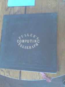 Fuller S Computing Telegraph Circular Slide Rule Calculator Circa 1850 1875