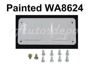 Tailgate Access Panel Cover Painted White Screws For Chevy Colorado 2004 2012