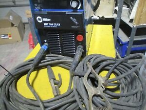 Miller Xmt304 Inverter Multi Process Stick Tig Mig Power Source